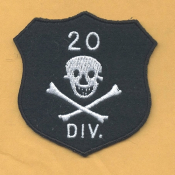 20th Infantrie Division WWII patch