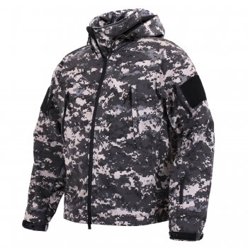 SPECIAL OPS TACTICAL SOFT SHELL FLEECE JACKE Subdued Urban Digital