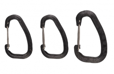 WILDO® ACCESSORY CARABINER SET BLACK