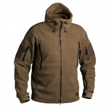HELIKON TEX PATRIOT HEAVY DOUBLE FLEECE JACKE COYOTE TAN