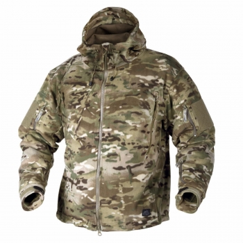 HELIKON TEX PATRIOT HEAVY FLEECE JACKE CAMOGROM