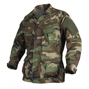 HELIKON TEX SPECIAL FORCES SFU NEXT Duty Combat Tactical Jacke Woodland Camouflage