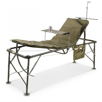 US Army ICU Bed Adjustable Hospital Folding Field