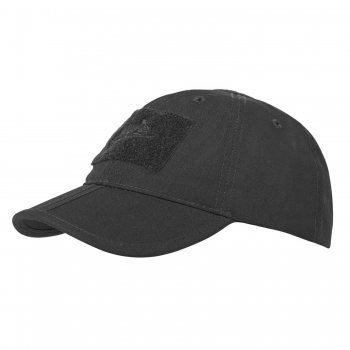 Helikon Tex Baseball FOLDING Cap® - PolyCotton Ripstop - Black