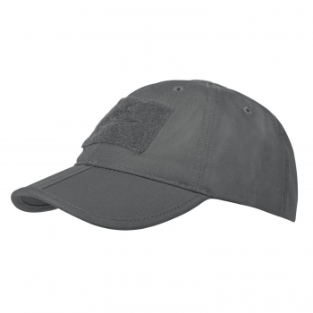 Helikon Tex Baseball FOLDING Cap® - PolyCotton Ripstop - Shadow Grey