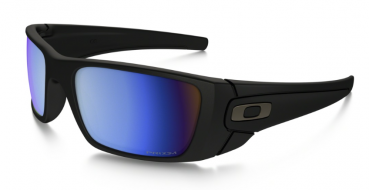 OAKLEY SI Fuel Cell Matte Black PRIZM Deep Water Polarized