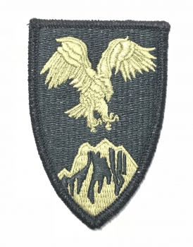US ARMY AFGHANISTAN COMBINED FORCES ACU AR670 Scorpion Multicam patch