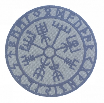 Vegvisir Viking Compass OD Klett patch