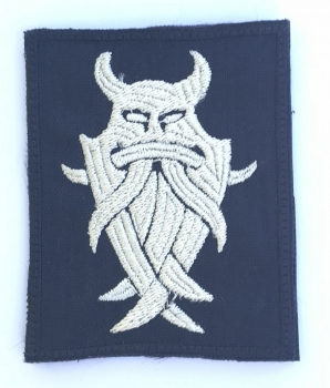 'Odin' Valhalla God Viking Klett patch