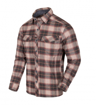 Helikon-Tex Defender Mk2 PILGRIM Long Sleeve Shirt® - Rust Plaid