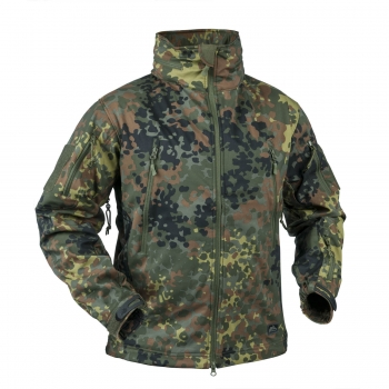 Helikon-Tex GUNFIGHTER Shark Soft Shell Jacke Flecktarn
