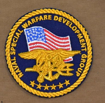 Naval Special Warfare Velcro patch