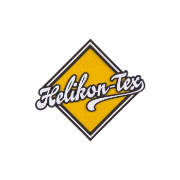 "Helikon Tex """"Road Sign"" Patch - PVC - Yellow"
