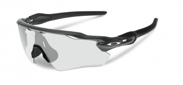 OAKLEY Radar EV Path Steel / Clear & Black Iridium Photochromic
