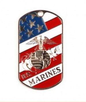 US DOG TAG MARINES