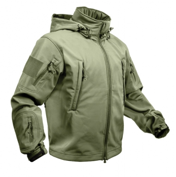 SPECIAL OPS TACTICAL SOFT SHELL FLEECE JACKE OLIVE DRAB