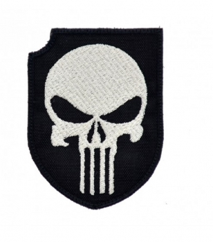 Act Of Valor Reenactor Skull Velcro patch