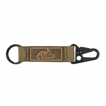 Helikon Tex Snap Hook KEYCHAIN with Logo - Nylon - Coyote