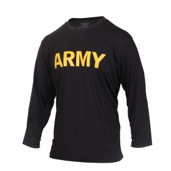 US Army APFU Physical Training Long Sleeve Shirt