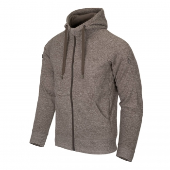 Helikon-Tex Covert Tactical Hoodie (FullZip)® - Light Tan Melange