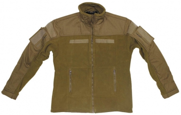 BW Combat Fleece Jacke coyote tan