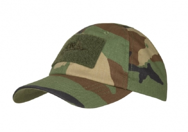 HELIKON TEX Combat Tactical Cap US Woodland Camouflage