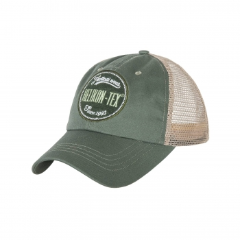 Helikon-Tex Trucker Logo Cap - Cotton Twill - Green