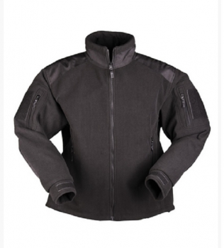 DELTA FLEECE JACKET SCHWARZ