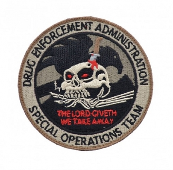 Dea Sabotage Special Operation Team Velcro patch