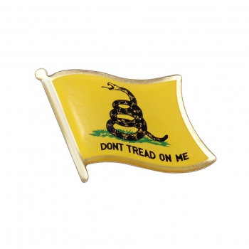 Don't Tread On Me Flag Pin