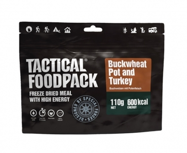 TACTICAL FOODPACK® BUCKWHEAT POT AND TURKEY
