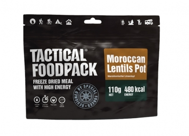 TACTICAL FOODPACK® MAROCCAN LENTILS POT