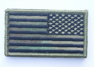 A-TACS FG REVERSED ARMY USA FLAGGE mit VELCRO