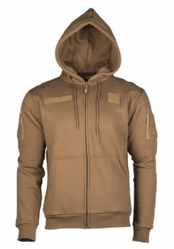 TACTICAL KAPUZENJACKE DARK COYOTE