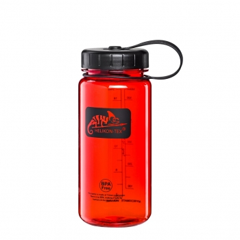 Helikon-Tex TRITAN™ BOTTLE Wide Mouth Campfires (550 ml) - Red