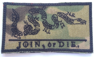 Join Or Die Multicam Velcro patch