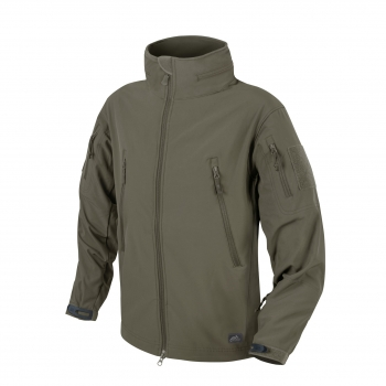 Helikon Tex GUNFIGHTER Jacket - Shark Skin Windblocker Taiga Green