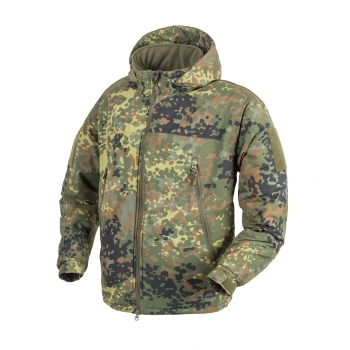 HELIKON TEX APEX LEVEL VII LIGHTWEIGHT JACKE FLECKTARN