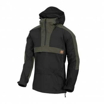 Helikon-Tex WOODSMAN Anorak Jacket® - Black / Taiga Green