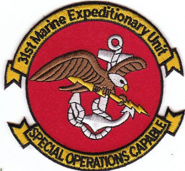 USMC US Marine Corps 31st Marine Expeditionary MEF Unit SPECIAL OPERATIONS CAPABLE