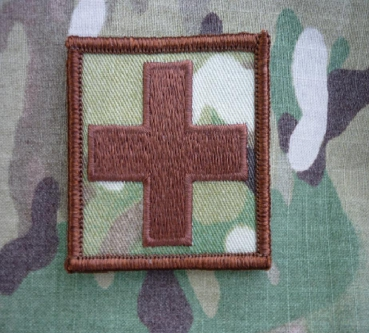 MEDIC CROSS Sanitäter Multicam patch with Velcro