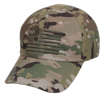 US MultiCam TACTICAL OPERATOR Cap w USA Flagge