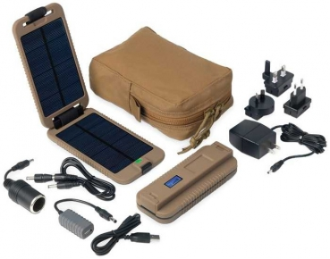 Powertraveller Powermonkey eXtreme Tactical Solar Coyote