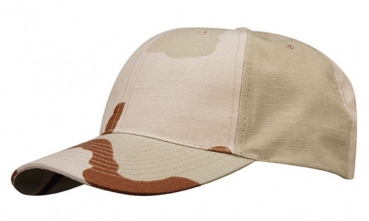PROPPER 6 Panel Baseball Cap 3 Color Desert Camouflage