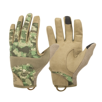 Helikon Tex Range Tactical Gloves® - PenCott® WildWood™ / Coyote A