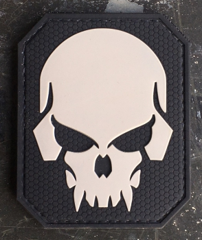 SKULL PVC Velcro patch