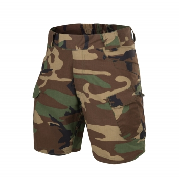 "Helikon Tex URBAN TACTICAL SHORTS® 8.5"" - PolyCotton Ripstop - Woodland camouflage"