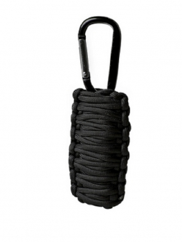 PARACORD SURVIVAL KIT SMALL SCHWARZ