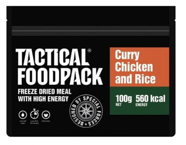 TACTICAL FOODPACK® CURRY CHICKEN AND RICE