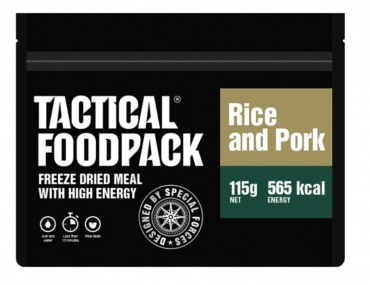 TACTICAL FOODPACK® PORK AND RICE